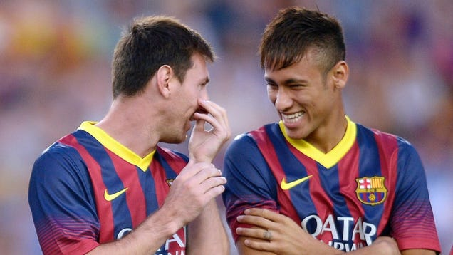 Neymar thinks Messi is his best friend