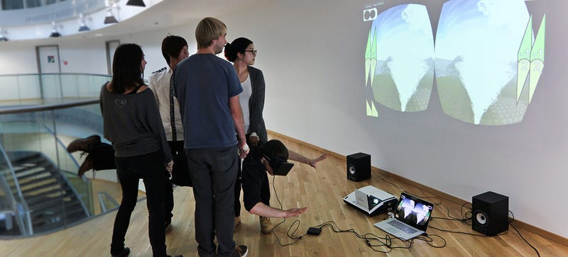 This 3D Motion Simulator Is Powered By People