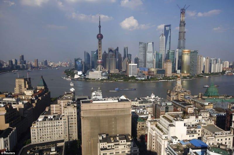 26 años de brutal transformación de Shanghái, en solo dos imágenes
