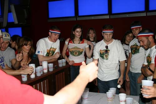 Defamer PartyWatch: Assistant Beer Pong Tournament At El Guapo