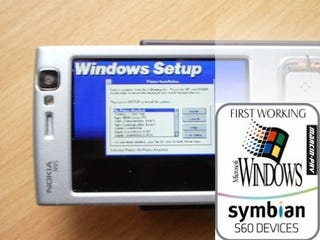 Windows 3.1 Runs On a Nokia N95, Creating Dangerous Ripple in Space-Time