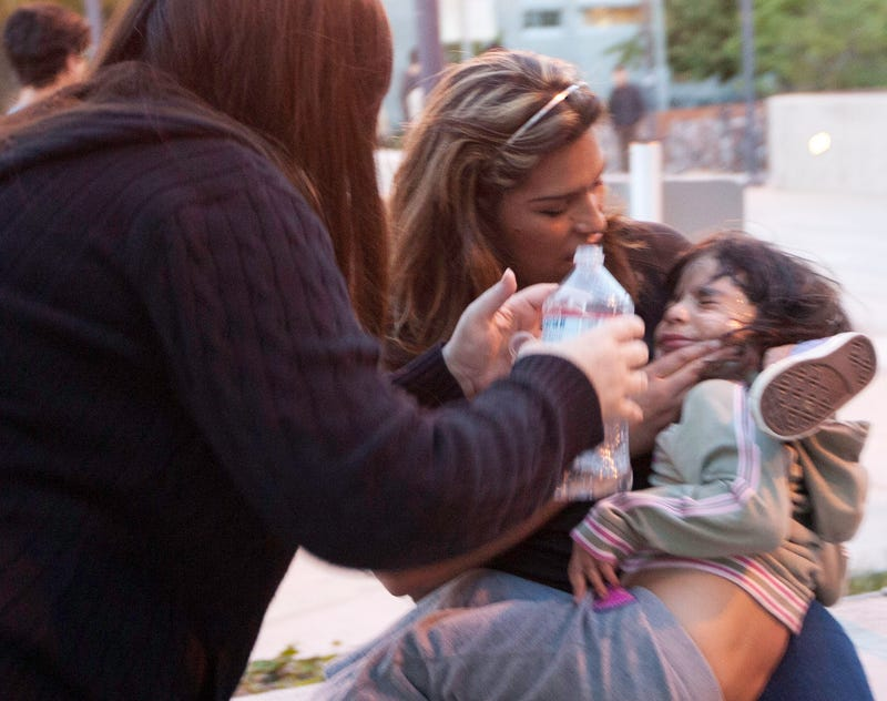 Santa Monica College Campus Police Pepper-Sprayed This Tiny Child Last Night