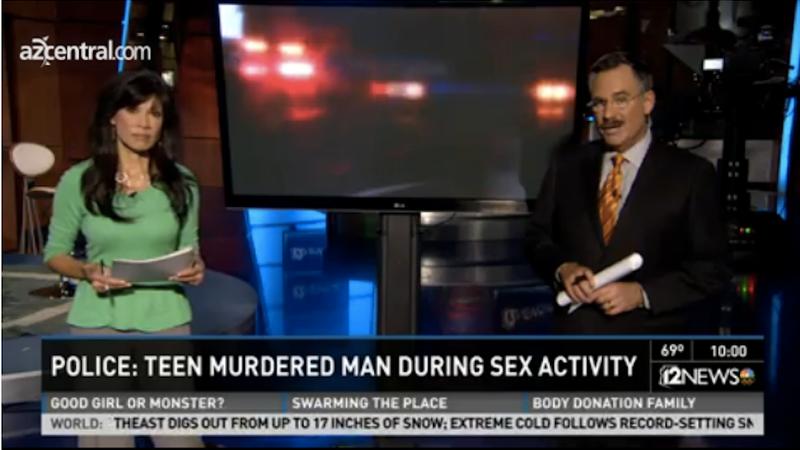 Story of Teen Killing 43-Year-Old Boyfriend Is 11 Flavors of Bonkers