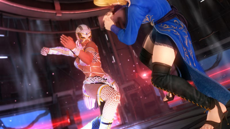 Never Share an Elevator With Lisa and Helena From Dead or Alive 5