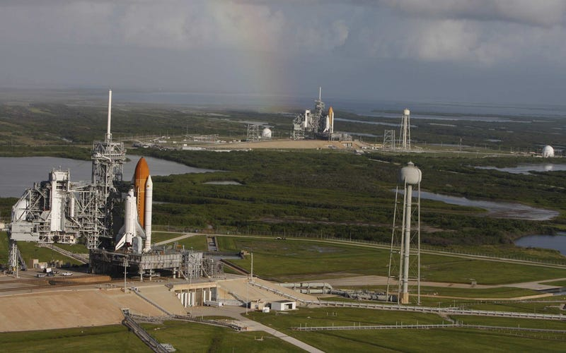 Historic Photo Shows Atlantis and Endeavour Together for the Last Time