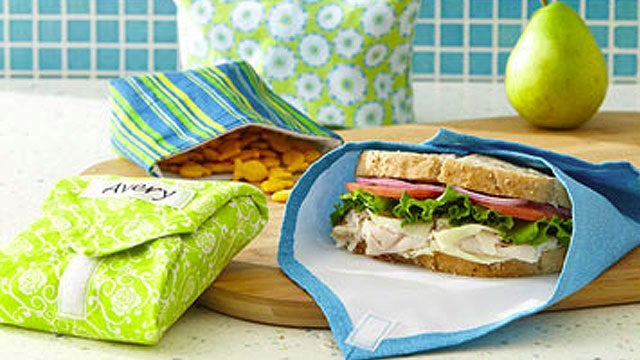 DIY Sandwich Wraps and Snack Bags Save Money and the Environment