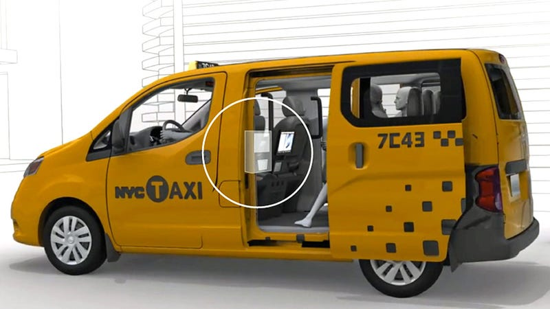 Prize-Winning Concept Could Bring Vending Machines To New York Taxis