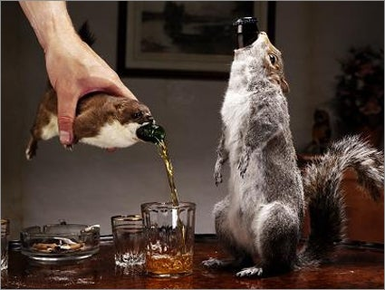 Scottish Brewery Releases Beer Product Packaged Inside Taxidermied Rodents