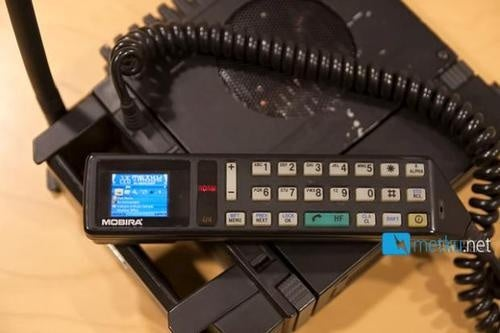 Home Theater PC Gets Crammed Into an Absolutely Ancient Cellphone