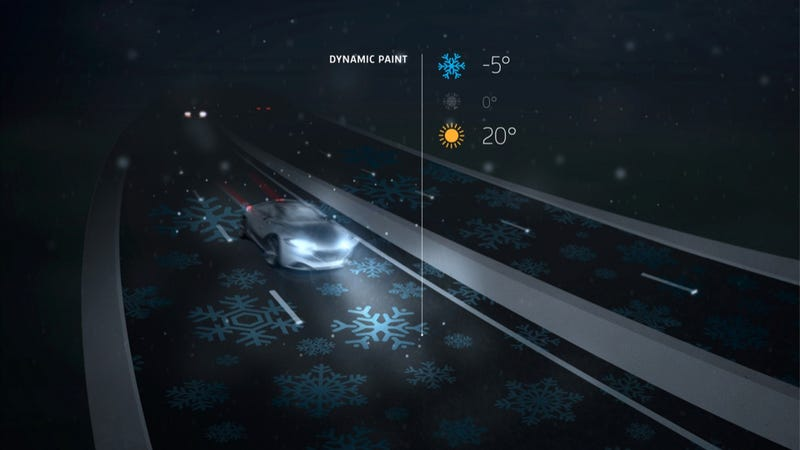 In The Future, Highways Will Light Up And Even Charge Your Electric Car (Maybe)