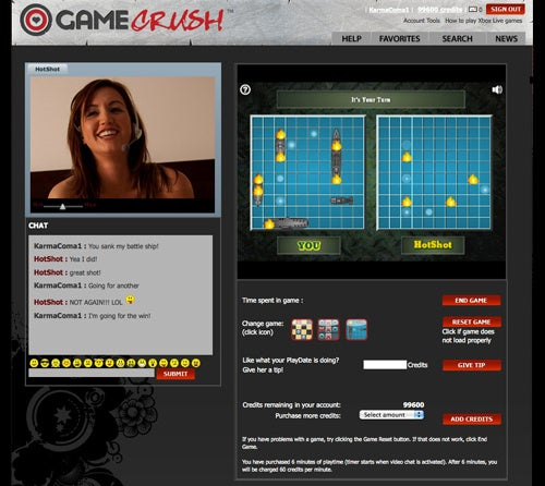 GameCrush Lets You Pay To Play Xbox With Hot Chicks