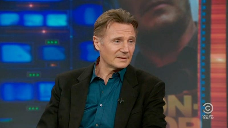 Liam Neeson Is Scarily Passionate About Horse-Drawn Carriages