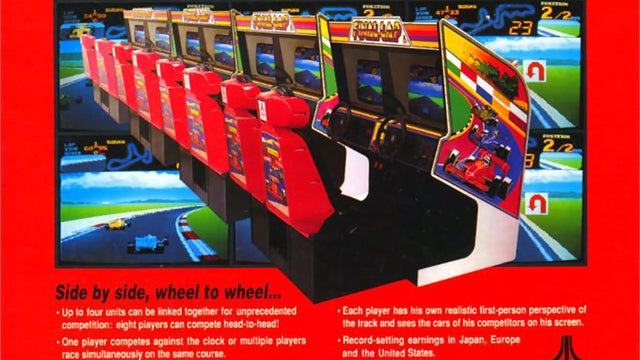 The top ten arcade racing games of the 1980s