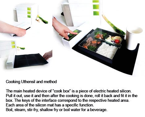 Electrolux Mini Kitchen Includes Tablet PC and Probably Loneliness