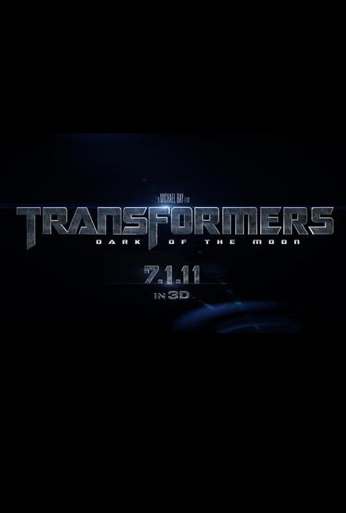 Transformers 3 Teaser Poster