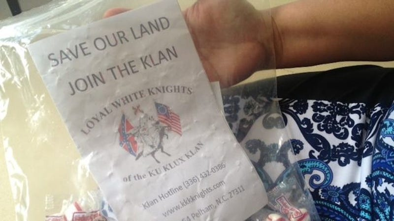 The KKK Is Handing Out Candy in South Carolina