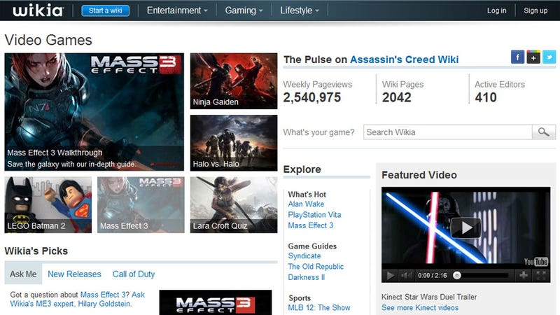 It's Insane How Many People Read Gaming Wiki Pages Every Month