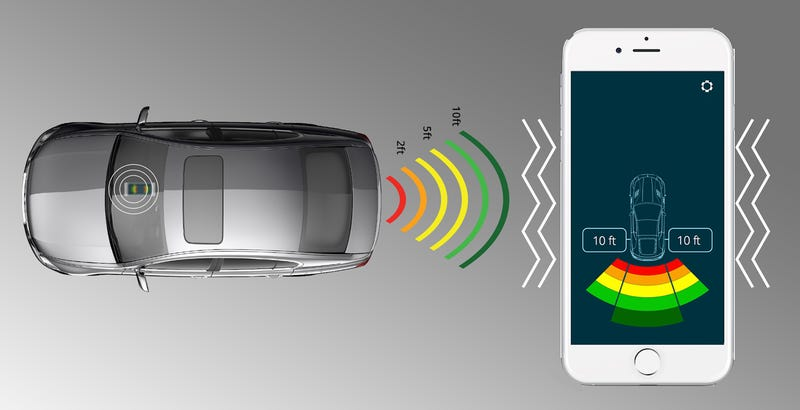 Ultra Simple License Plate Sensor Adds Collision Protection to Any Car
