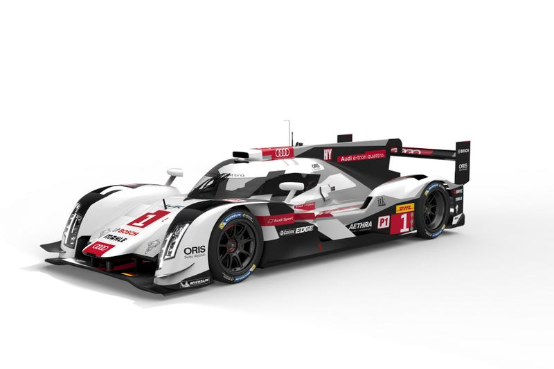 Final Audi R18 livery.