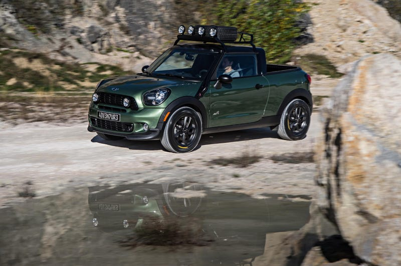 The Mini Paceman Adventure Is A One-Off Pickup Loaded With Awesomeness