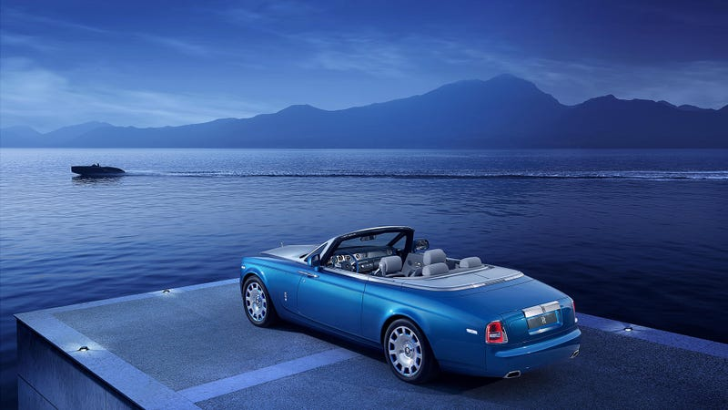 The Rolls-Royce Drophead Waterspeed Is An Art Deco Speedboat On Wheels
