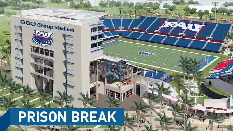 FAU's Deal To Name Its Stadium After A For-Profit Prison Company Is Off