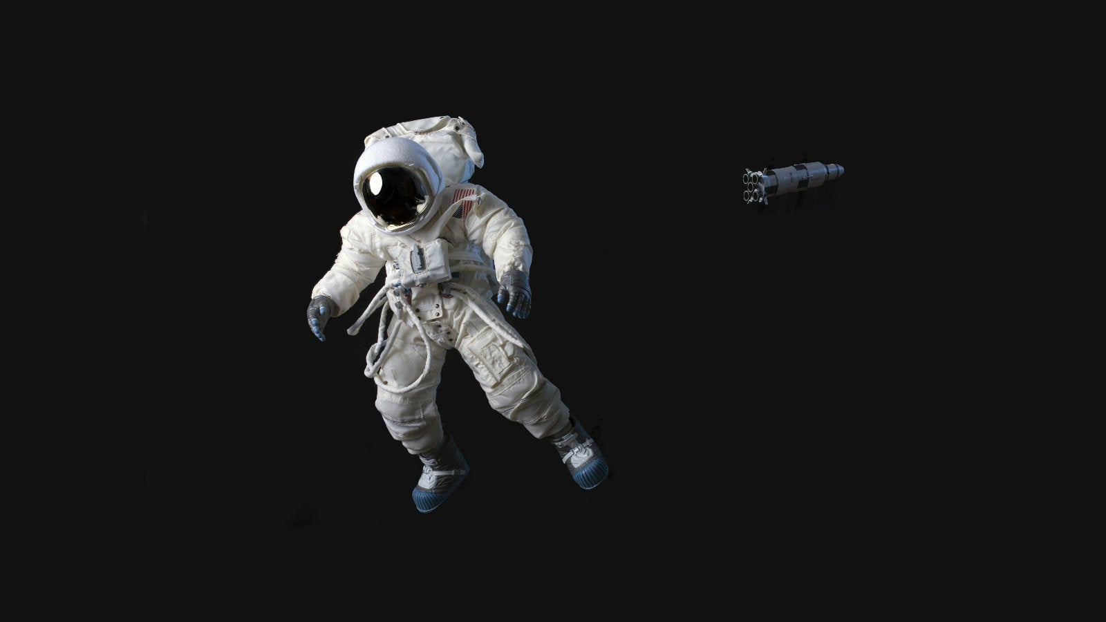 Astronaut Floating in Space  Presenter Media