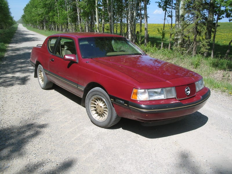 The 1987 Mercury Cougar Made 150hp from a 302 V8