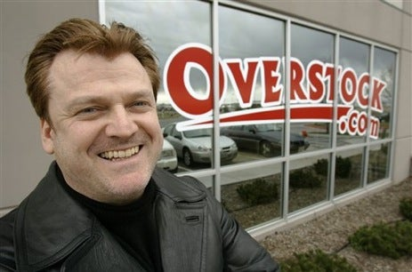 Overstock.com chief lying about company's finances since 2001