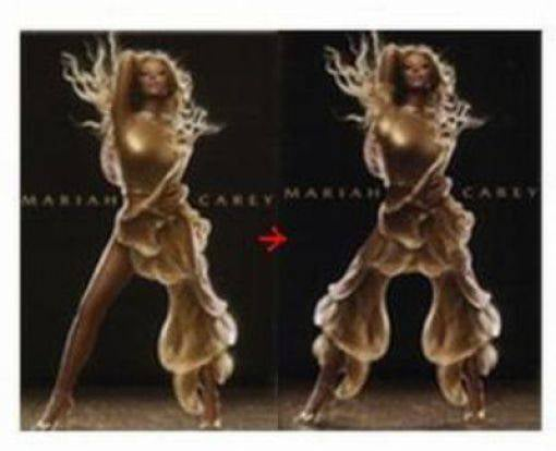 In Saudi Arabia, Photoshop Makes Mariah Carey Modest