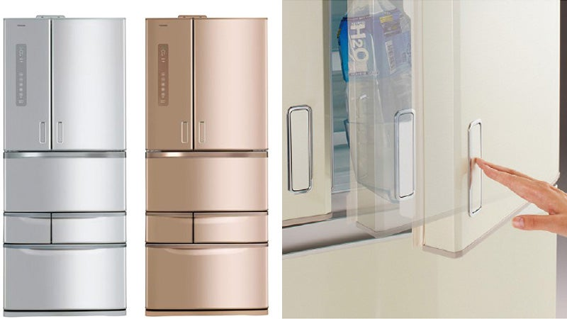 A Gentle Tap Is All That's Needed To Open This Fridge's Doors