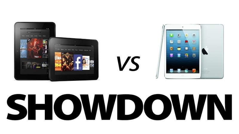 iPad Mini or Kindle Fire HD?