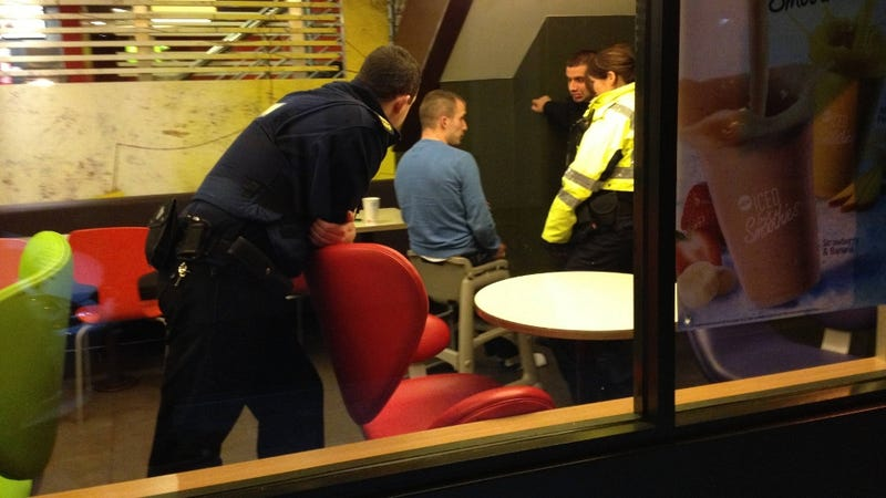Police Called to Free Grown-Ass Man Stuck in High Chair at McDonald's