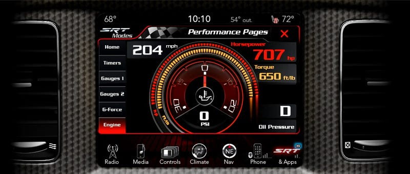 The 204 MPH Dodge Charger SRT Hellcat: A Hi-Res Gallery