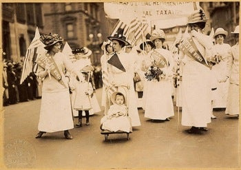 Well Done, Sister Suffragettes
