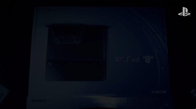 Sony's Official PS4 Unboxing Video Is Hilariously OTT