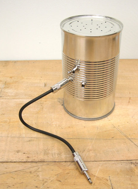 Speakers...In a Can