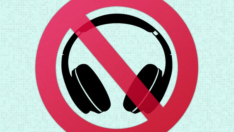 No Headphones Day
