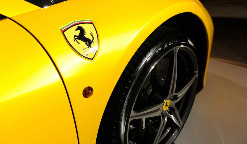 Dubai To Add A Ferrari To Its Police Fleet Since A Lambo Isn't Enough