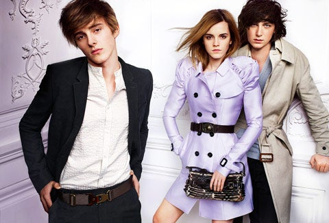 Emma Watson Does Burberry Again; Lindsay Lohan In Intellectual Property Conundrum
