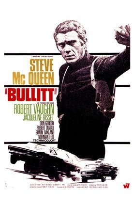 Watch Bullitt With Us On Saturday, March 15th, 2008