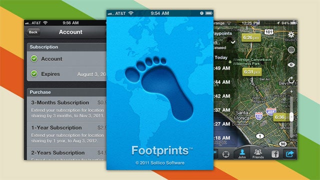 Footprints Is an Energy-Saving Location Tracker for iOS