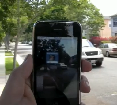 Augmented Reality iPhone App Helps You Find Your Mommy