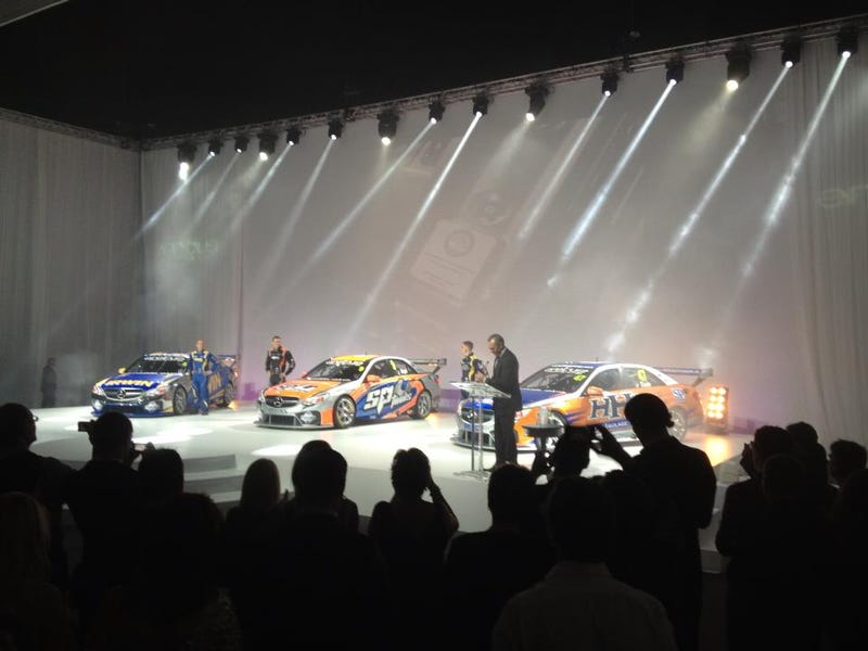 Erebus/SBR Finally Reveal Their Mercedes E63 AMG Bodied V8 Supercar