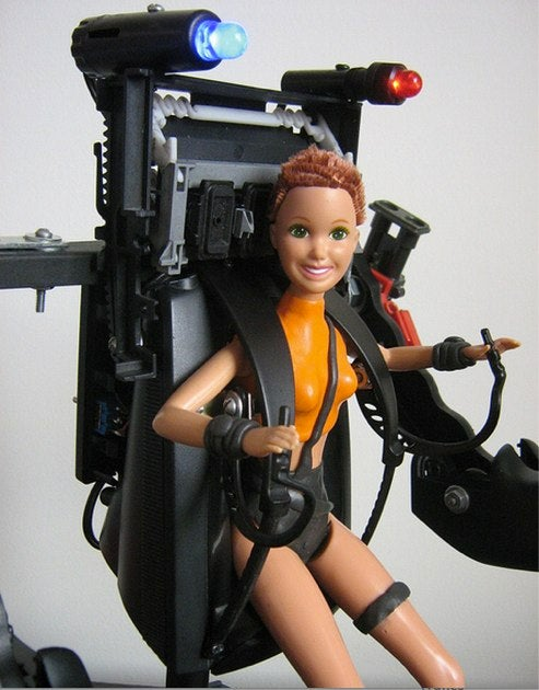 "Power Loader Barbie wants you to ""Get away from Skipper, you b*tch!"""