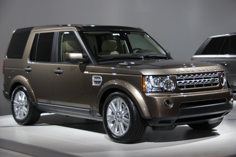 Land Rover Lr4 Off Road Accessories >> 2010 Land Rover LR4 Updated With Jaguar V8