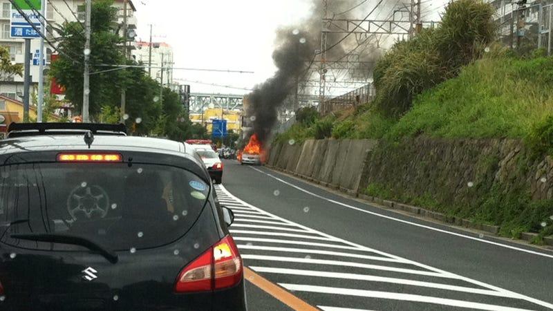 The Time I Saw a Car Explode