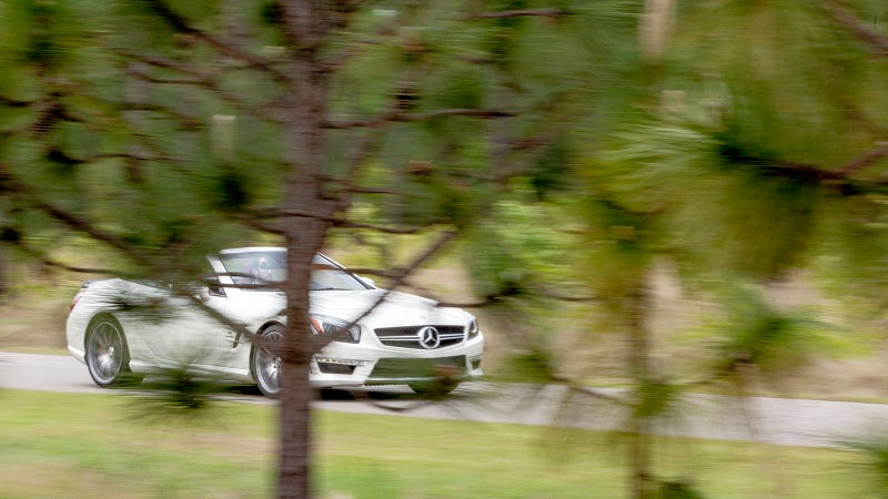 Beauty and the Beast - 2013 Mercedes-Benz SL63 and 1960 Mercedes-Benz 300SL Roadster