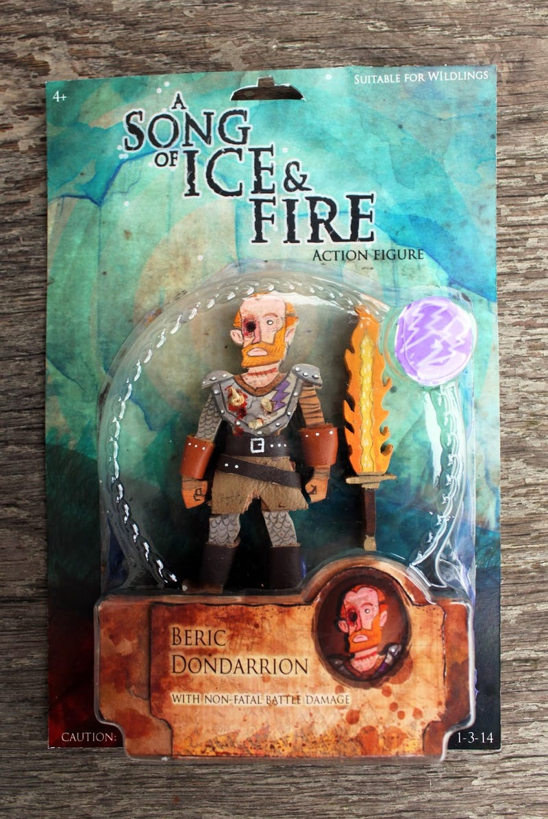 Game Of Thrones Action Figures Are Works Of Art