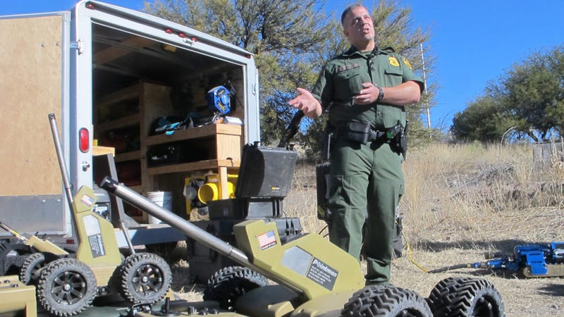 Badass Tunnel Bots And The Border Patrol Agents Who Love Them